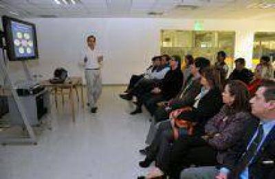 El Intendente Miguel Isa se reunió con los especialistas que trabajan en el PIDUA II