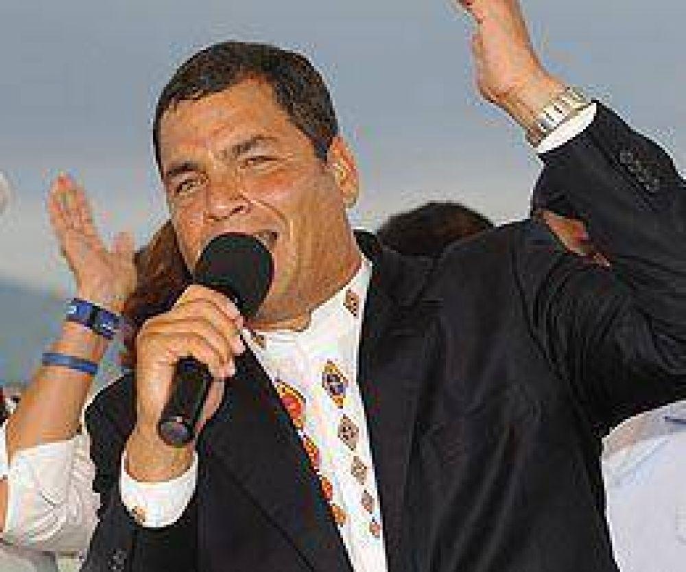 Ecuador: Correa logra la reelección