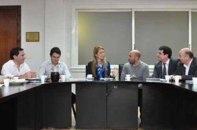 José Inza se reunió con Débora Giorgi por el financiamiento de Pymes del Partido de Azul