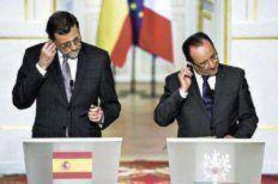 Rajoy y Hollande se unen contra el desempleo