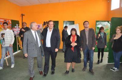 En el Cedyc de Barrio Moreno Martín Ferré inauguró la tercer sede nicoleña del programa Envión