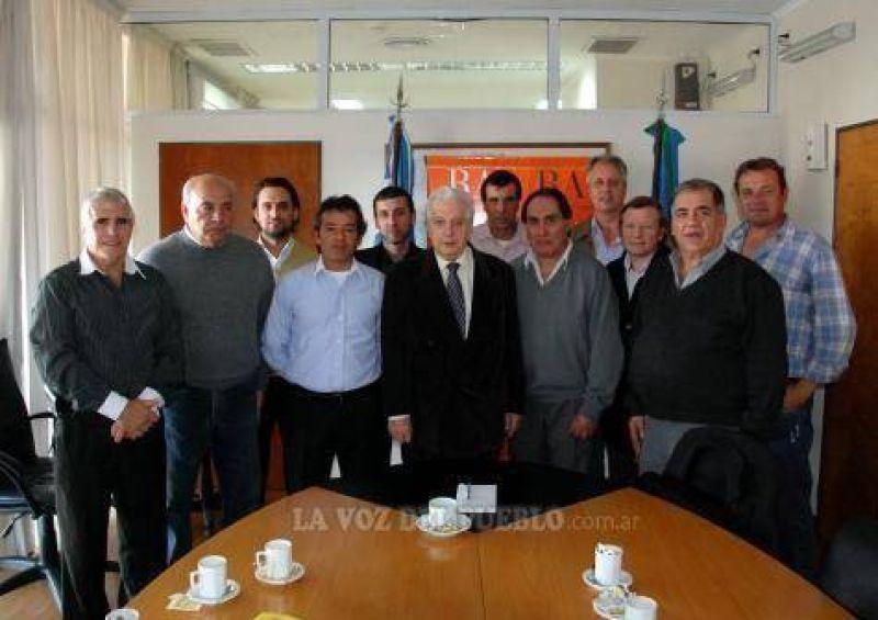 Cuartango recibió a la CGT Regional Tres Arroyos