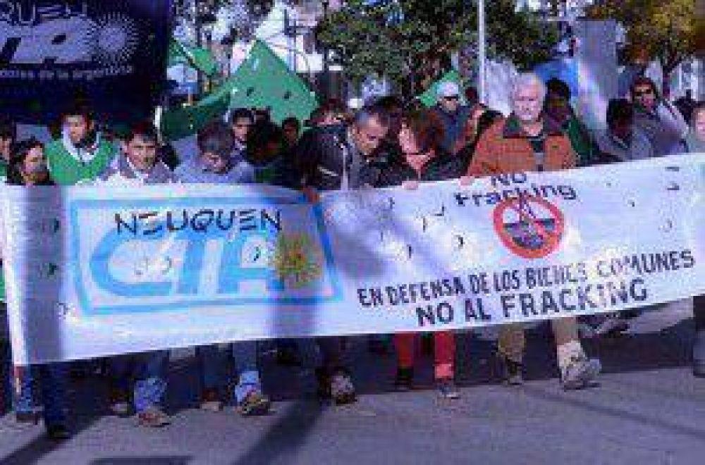 La CTA marchó en Neuquén