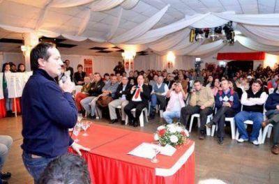 Amplio apoyo en el Norte provincial para Camau