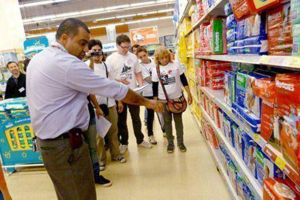 En el Hiper encontraron solo 380 de los 500 productos con precios acordados