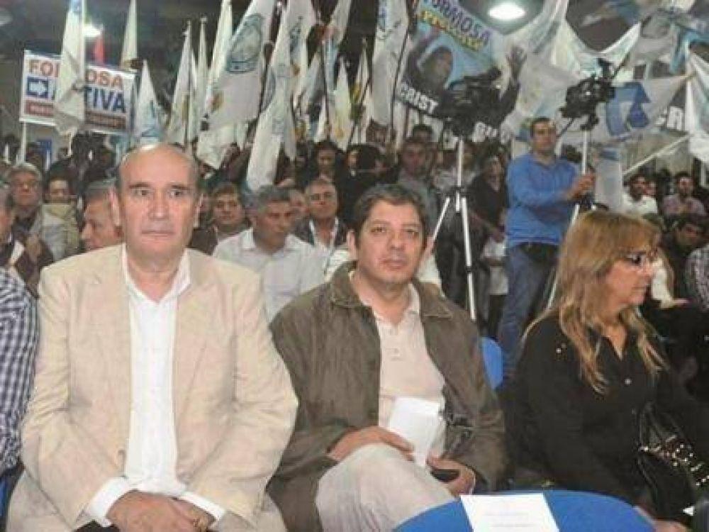 Formosa marco el inicio de una serie de visitas de apoyo de diputados nacionales a gobernadores del PJ