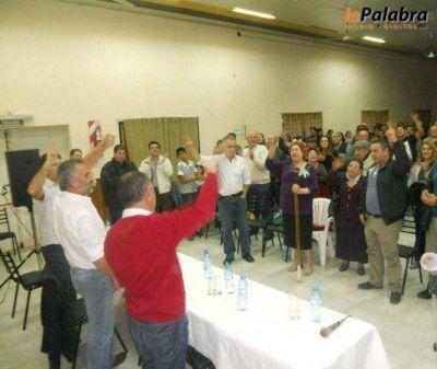 Rumbo al 11 de agosto: Curetti se reunió con referentes políticos