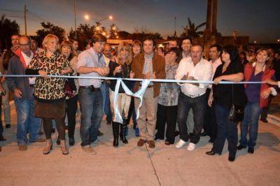 La Municipalidad inauguró la obra integral de la avenida Rivadavia