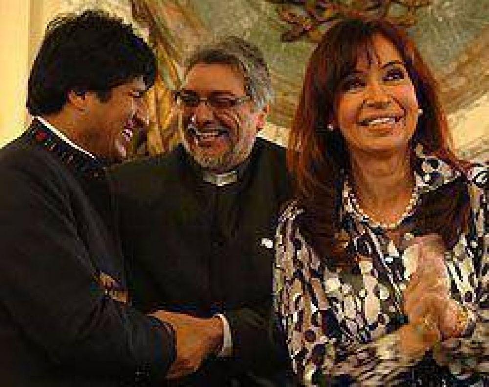 Cristina arbitró en un histórico conflicto entre Paraguay y Bolivia