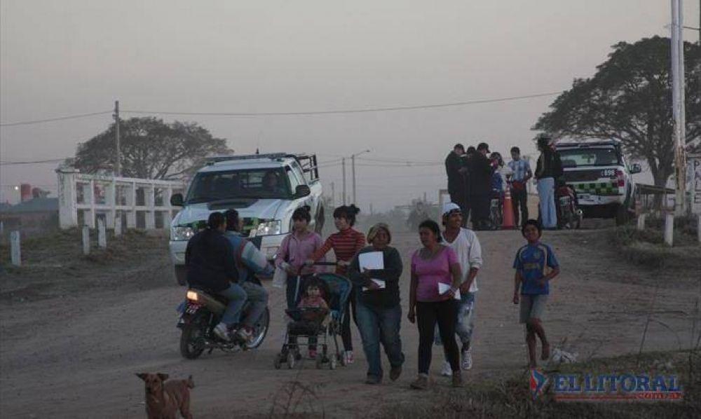 El regreso de okupas generó un refuerzo de seguridad en los terrenos del Pirayuí