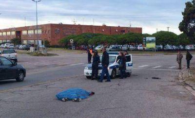 Atropellan con una Toyota a un Técnico del Inidep y lo matan: el conductor se dio a la fuga