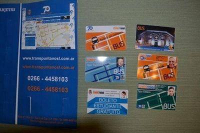 Transpuntano: desde el 9 de junio rige el pago exclusivo con tarjeta BUS