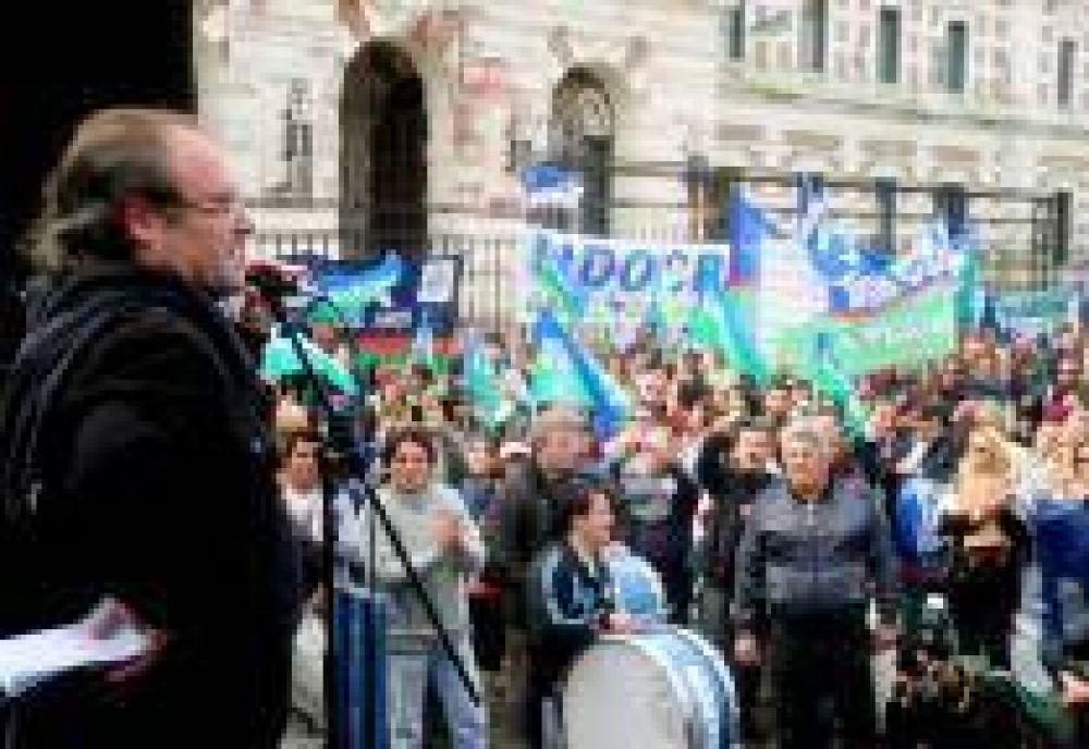 Docentes bonaerenses anuncian otro paro de 72 horas