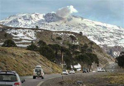 Bajó el alerta por el volcán y hay alivio en Caviahue