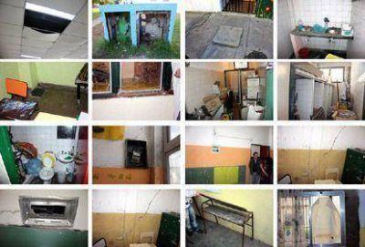 Piden informes sobre el deficiente estado edilicio de una escuela de Sarandí