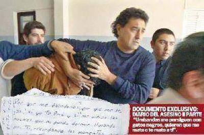 """Se entregó """"Milanesa"""" Páez y aseguró que no degolló a su ex novia"""