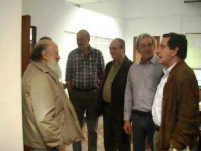 Capitanich recibió a Emilio Pérsico en Gobierno
