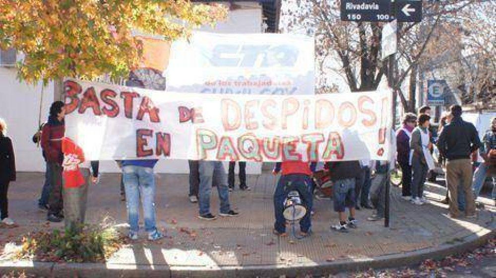 Duro cuestionamiento de la CTA Chivilcoy al jefe regional del Ministerio de Trabajo