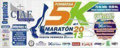 """Este jueves presentan la 2º edición de la Maratón Formosa 5K """"Vuelta Fermoza"""""""