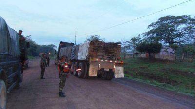 Madera retenida trasladada a Managua