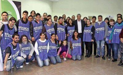 "Avellaneda: Ferraresi junto a los militantes del ""Mirar para Cuidar"""