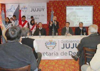 Presentaron los Juegos Nacionales Evita que tendrán su final en Mar del Plata