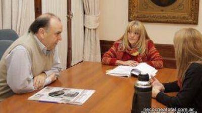 Benita García asumió en Salud