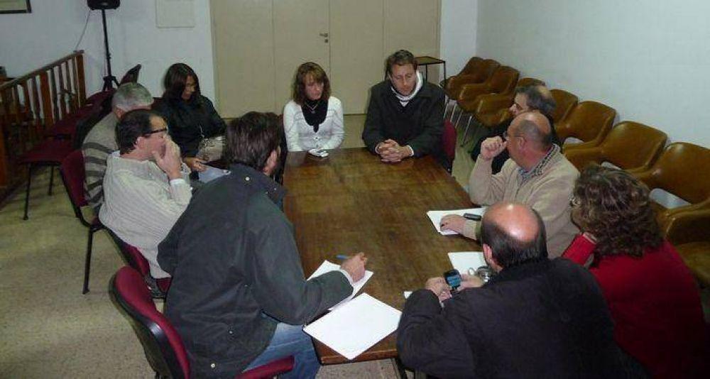 Concejales se reunieron con el área de salud y con el Intendente