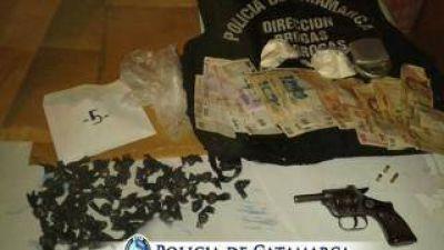 Secuestran cocaína, marihuana y armas de fuego en la zona norte