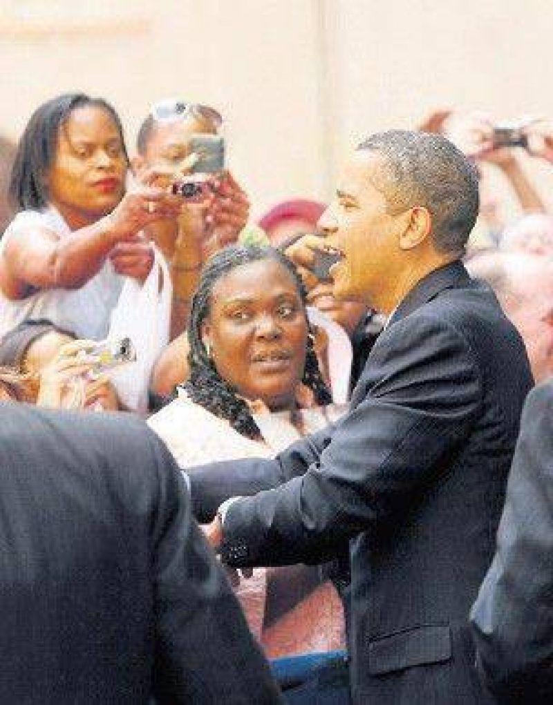 Obama cumple 100 d�as en el poder con un r�cord de apoyo