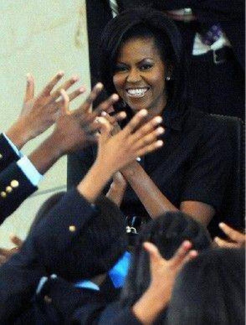 Michelle, de la desconfianza a la admiración y el glamour