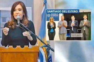 Cristina confirmó que vendrá a Santiago al inaugurar con Zamora una oficina de Justicia
