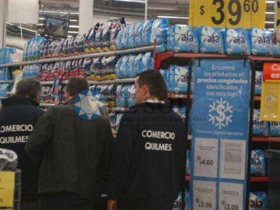 Empezó el control de precios