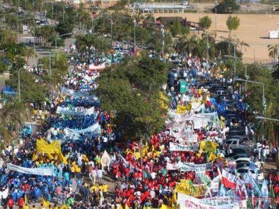 Noel Breard afirmó que 50 mil personas acompañaron el acto del 8J