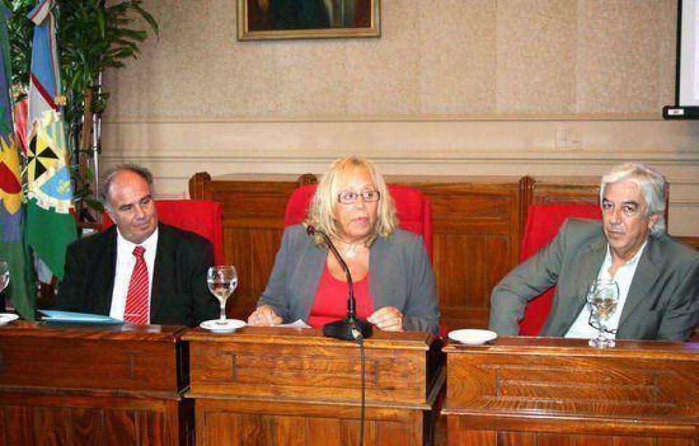 Con gran concurrencia de público: La intendente Giroldi presentó el Plan de Gobierno 2009