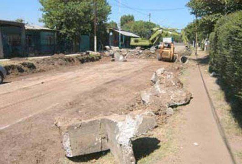 Malvinas Argentinas   Asfaltos para los barrios de Malvinas