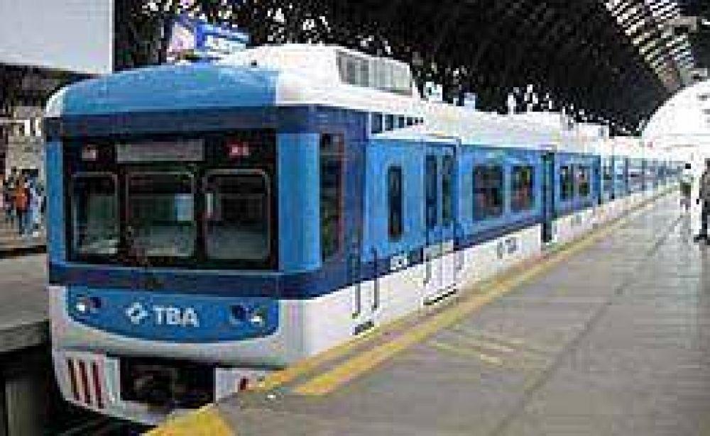 Por acto de la CGT, los trenes operan hoy con servicio reducido