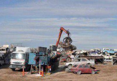 Compactarán 70 autos por día
