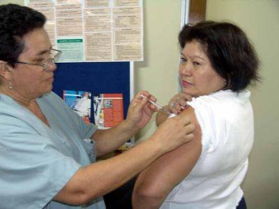 Brown: sigue la vacunación antigripal en los centros de salud