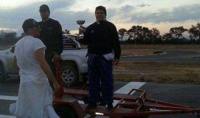 Destacada participación jujeña en campeonato salteño de karting