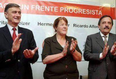 Acuerdo entre la UCR, el FAP y la CC