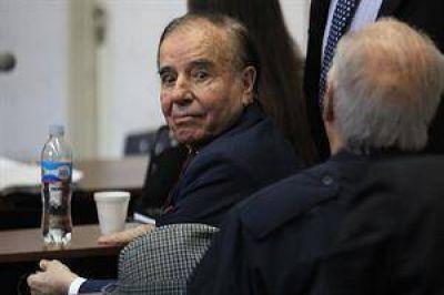 Carlos Menem fue condenado a siete años de prisión en la causa armas