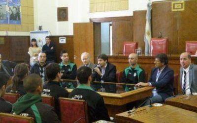 Reconocieron a Kimberley por el ascenso al Torneo Argentino B de Fútbol
