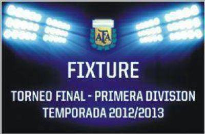 Fixture de la fecha 18 del Torneo Final 2013