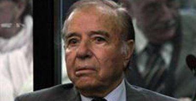 El Senado podrá tomarse un largo tiempo antes de decidir el desafuero de Menem