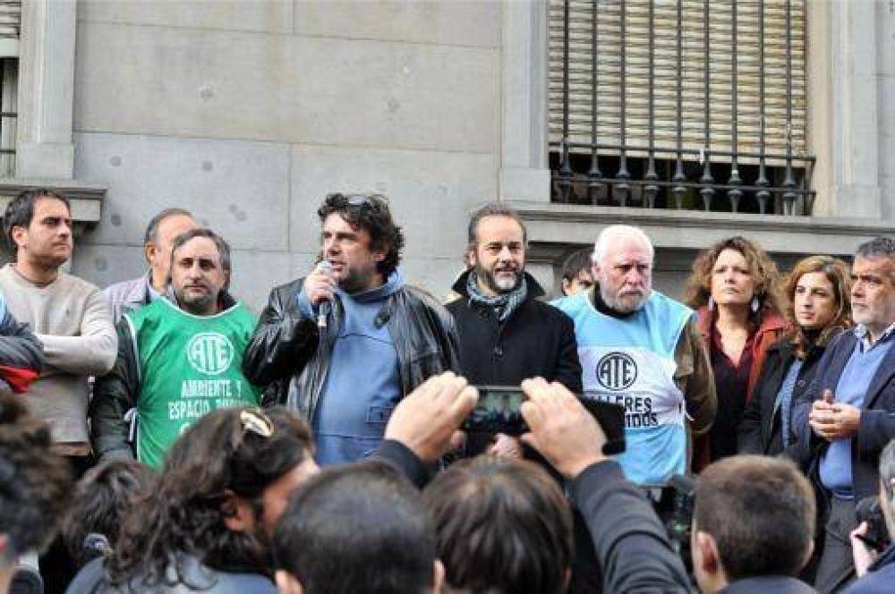 Gremios de la Ciudad se movilizaron para reclamar libertad sindical