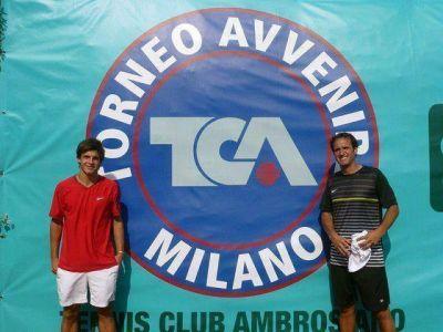 Capalbo subcampeón en Milán