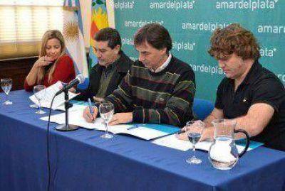 Turismo Mar del Plata firmó convenio con UTHGRA y SMATA