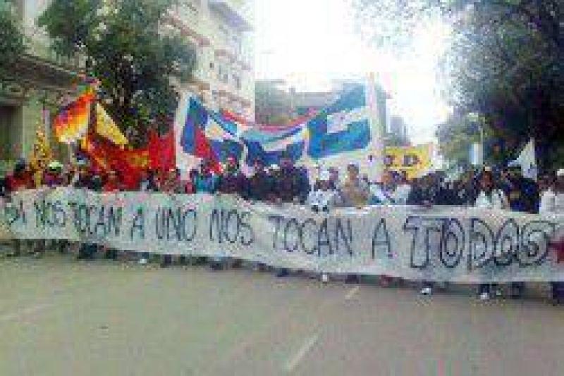 """La Multisectorial se moviliza contra """"la impunidad y la inacción del gobierno"""""""