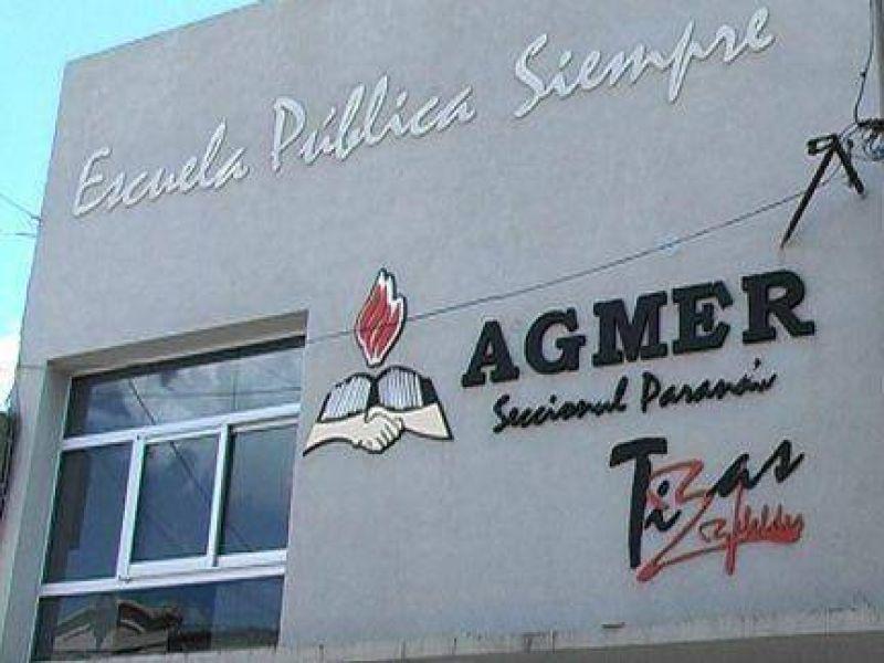 AGMER Paraná realiza asambleas de dos horas en las escuelas